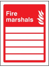 Fire Marshals (Space for 5 People)