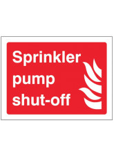 Sprinkler Pump Shut-off