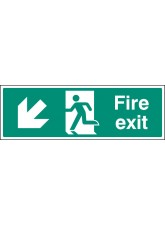 Fire Exit - Down and Left