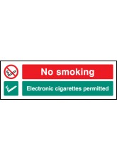 No Smoking Electronic Cigarettes Permitted