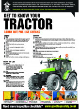 GTG Tractor Inspection Poster
