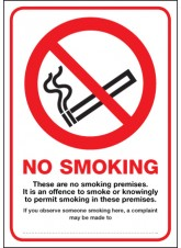 These Are No Smoking Premises - (Scotland)