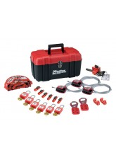 Standard Lockout Kit - with Electrical & Mechanical Devices