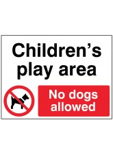 Childrens Play Area No Dogs Allowed