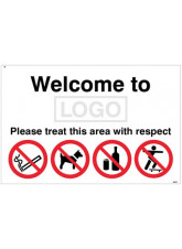 Welcome to (Logo) Please Treat this Area with Respect