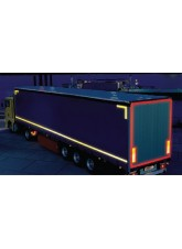 Red Lorry Marking Contour Tape 55mm x 12.5m (Rigid Vehicle)