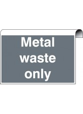 Roll Top - Metal Waste Only