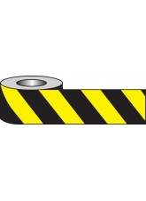 Self Adhesive Hazard Tape - 33m x 50mm - Black / yellow