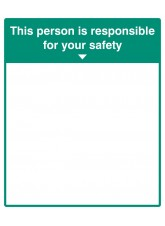 Mirror Message - This Person Is Responsible for Your Safety
